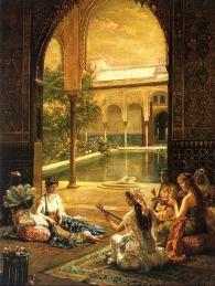 women Alhambra Granada