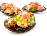 Tapa of mussels