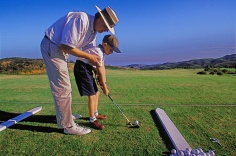 Golf tuition at La Cala Golf