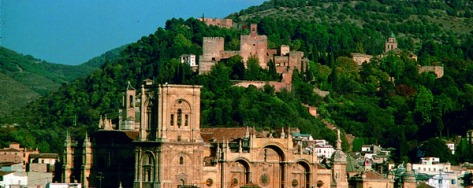 Granada cathedral Alhambra