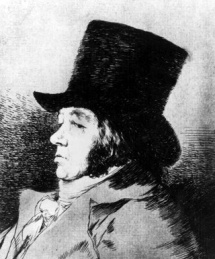 Goya self portrait