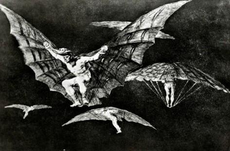 Goya modo volar