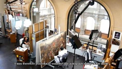 Restoration Bruegel Elder