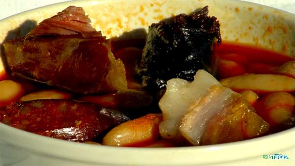 Asturian fabada casserole