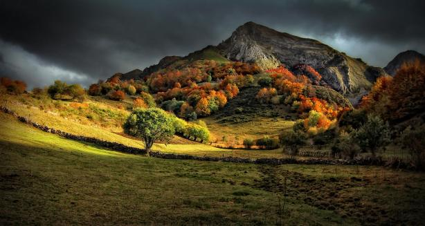 Asturias in autumn