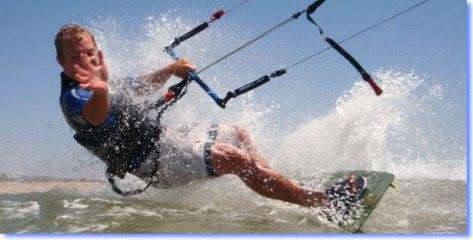 kitesurfing Spain