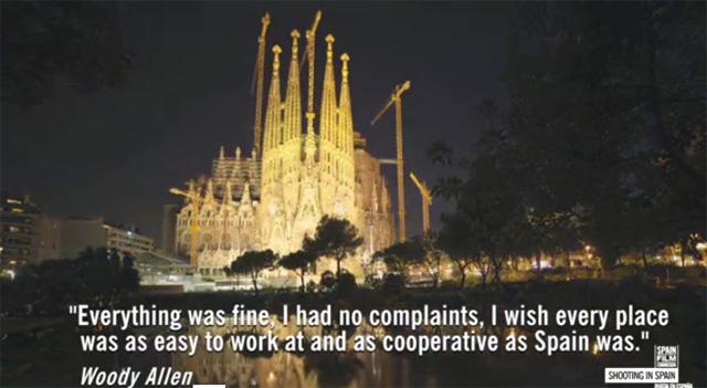 Woody Allen Spain