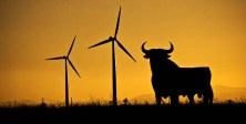 Spanish wind power