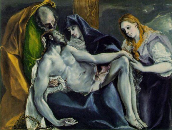 El Greco Pieta