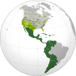 Spanish language Americas