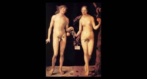 Dürer's Adam Eve