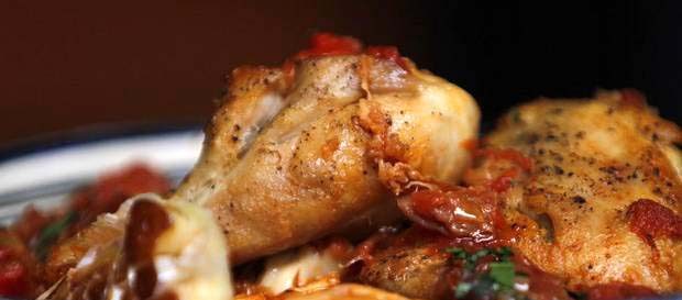 chicken chilindron Spain