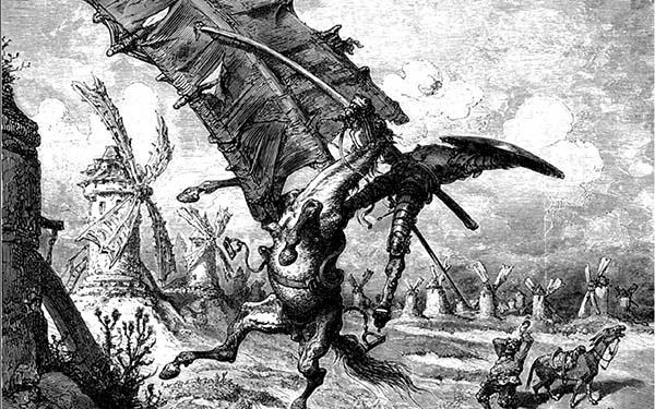Dore Quixote Spain