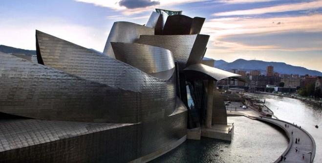 Ghery Guggenheim Spain