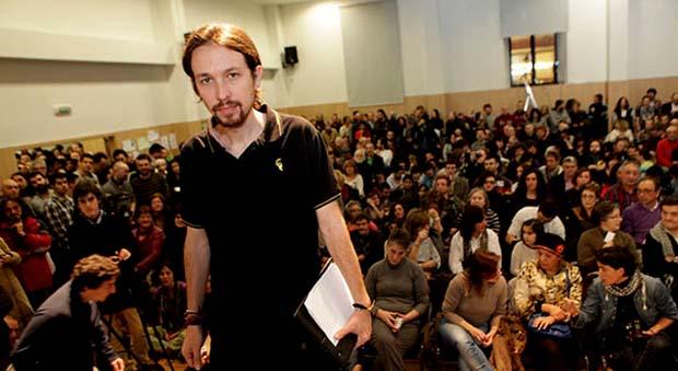 Pablo Iglesias asamblea
