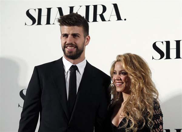 Shakira Gerard Pique
