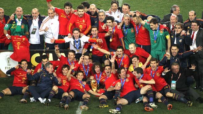 Spain team 2010