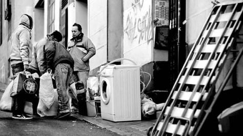 Spanish householders evicted