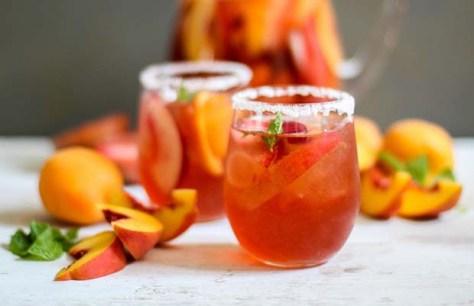 Apricot sangria Spain
