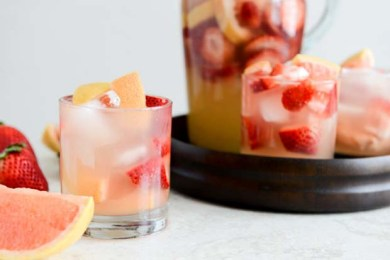 Grapefruit sangria Spain