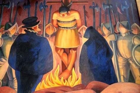 Pizarro Executes Atahuallpa
