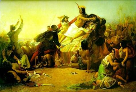 Pizarro captures Inca