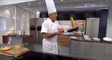 Arguinano tortilla flip