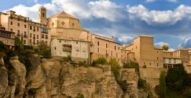 Cuenca cliff houses