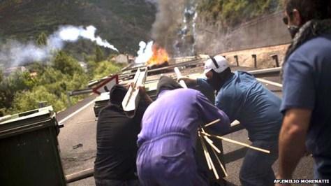miners strike 2012