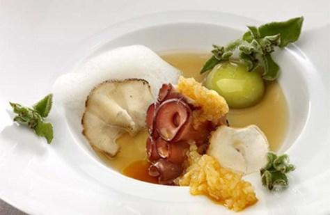 Basque octopus textures