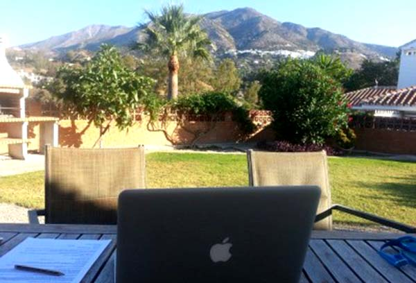 Home working Spain
