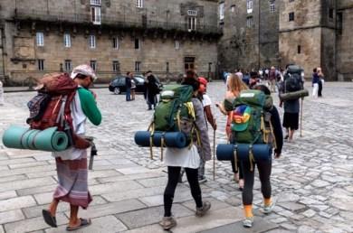 Pilgrims to Santiago