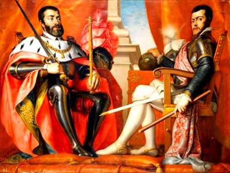 Charles V Philip II