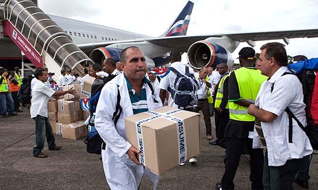 Cuban doctors abroad