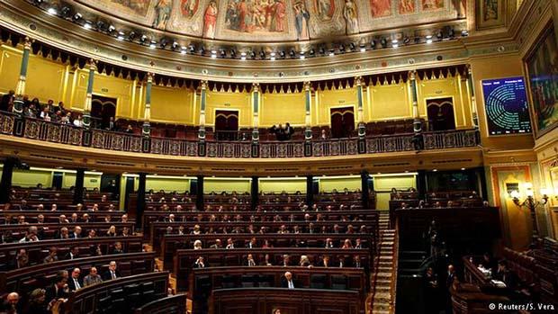 Spanish parliament Madrid