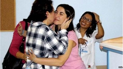 Teresa Romero cured