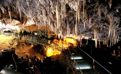 Cantabrian caves Spain
