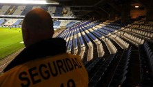 Deportivo empty stadium