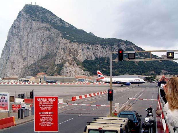 Gibraltar airport row