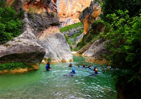 Canyoning Guara Huesca