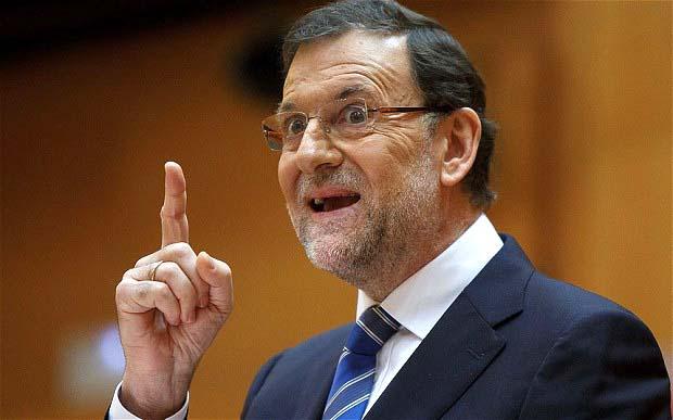 Spanish President Rajoy