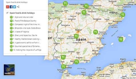 Spain foodie holidays