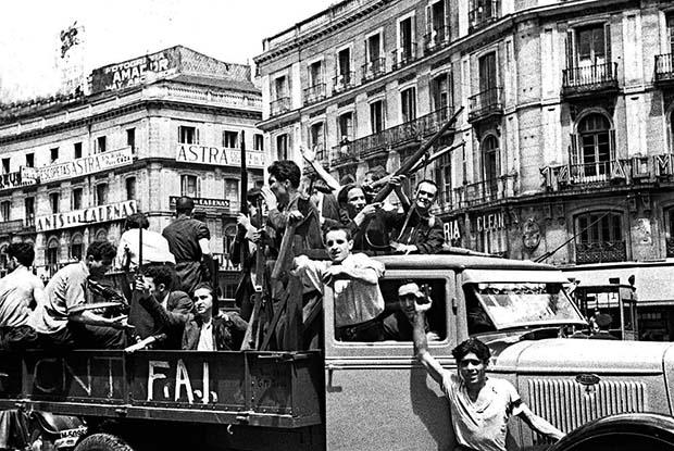 Spanish anarchists Zaragoza