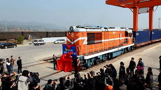 China Madrid train