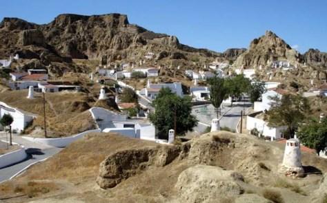 Cave homes Guadix