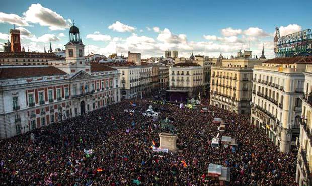 Podemos demonstration Madrid