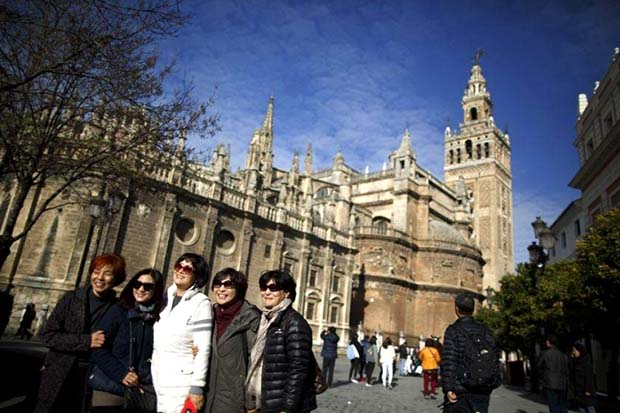 Chinese tourism Spain