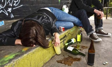 drunk in Spain