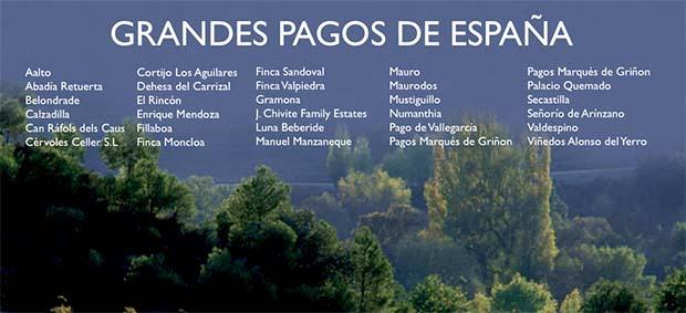 Grandes Pagos Spain