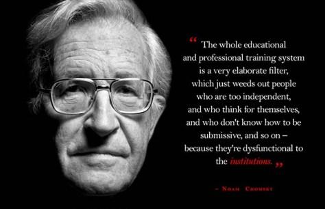 Noam Chomsky Podemos